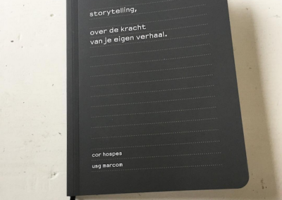 USG MarCom: Corporate Story en boek over Storytelling