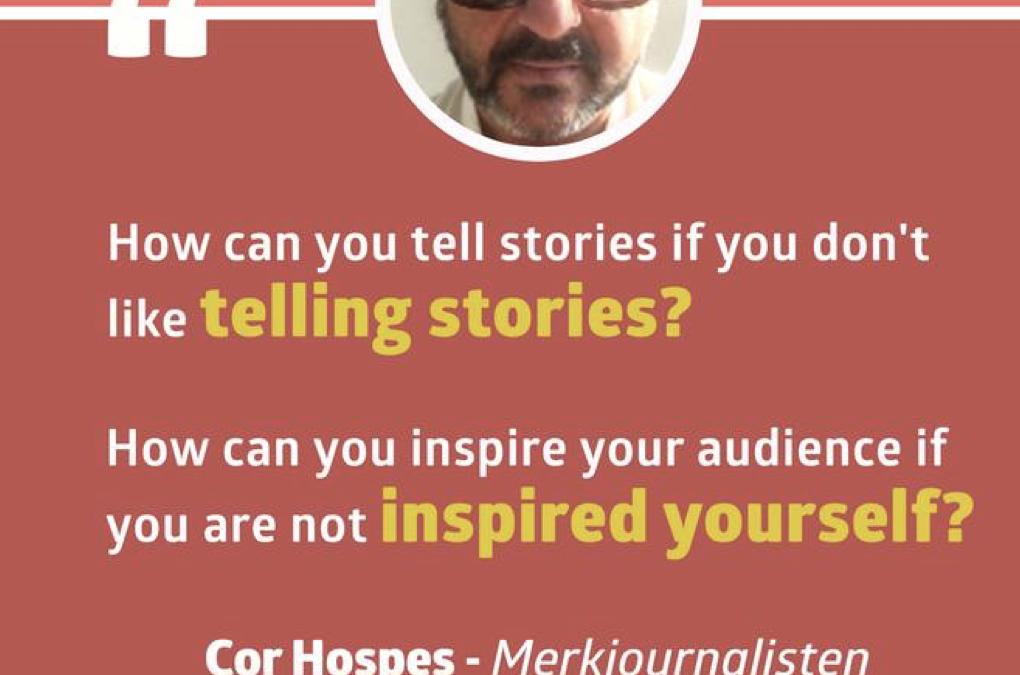 Merkjournalisten op #CMWorld