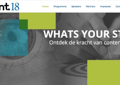 Organisatie Congres: Contentmarketing & Storytelling